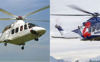 Leonardo celebrates the AW139 helicopter's 20th anniversary of its 1st flight