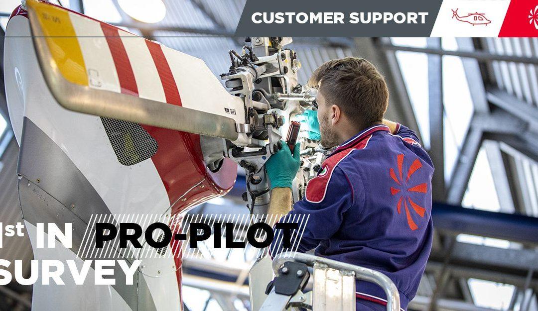 Лучшая сервисная поддержка по результатам опроса журнала Pro Pilot 2021 г.